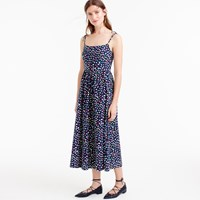 J.Crew Petite Sundress In Ratti Happy Cat Print