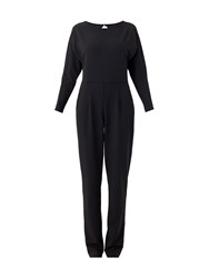 Maiocci Collection Stretch Fabric Jumpsuit Black