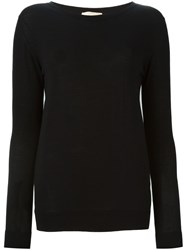 Erika Cavallini Scoop Neck Sweater Black