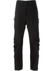 Lost And Found Rooms Loose Fit Trousers Black