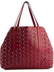 Jimmy Choo 'Pimlico' Tote Red