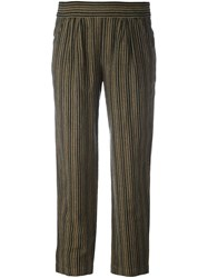 Masscob Striped Trousers Grey