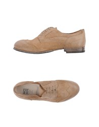 Moma Footwear Lace Up Shoes Women Khaki