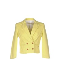Met And Friends Suits And Jackets Blazers Women Light Yellow