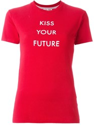 Each X Other Blair Chivers X Eachxother 'Kiss The Future' T Shirt Red