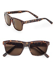 Cole Haan 53Mm Wayfarer Sunglasses Dark Tortoise