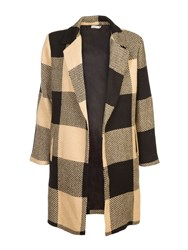 Lavand Oversized Coat Multi Coloured Multi Coloured