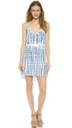 Bella Dahl Racer Back Tank Dress Bamboo Tie Dye