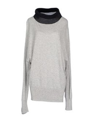 European Culture Sweaters Light Grey
