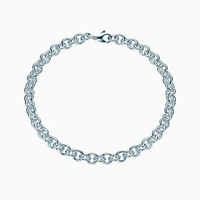 Tiffany And Co. Link Chain In Sterling Silver Large. No Gemstone