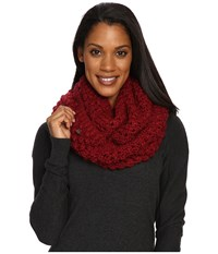 Lole Eternity Scarf Popcorn Rumba Red Scarves