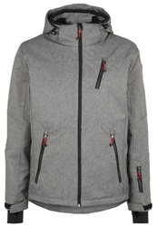 Killtec Cingaro Soft Shell Jacket Grau Mottled Grey