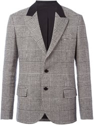 Ermanno Scervino Lapel Detail Blazer Black