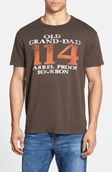 Tailgate 'Grand Dad' Graphic T Shirt Earth Brown