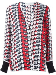 Victoria Beckham Strawberry Print Pyjama Jacket Multicolour