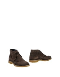 Pantofola D'oro Ankle Boots Cocoa