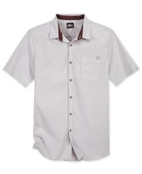 Fox Men's Fields Short Sleeve Shirt Grey