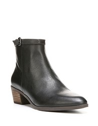 Dr. Scholl's Mindy Leather Ankle Boots Black