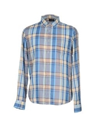Cheap Monday Shirts Blue