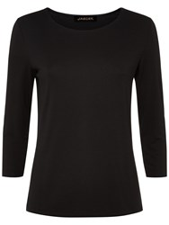 Jaeger Essential Jersey Top Black