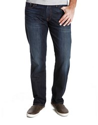 Lucky Brand 221 Original Straight Barite Wash Jeans Blue