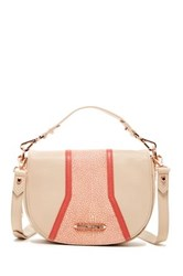Treesje Small Koralina Leather Crossbody Pink