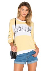 Lauren Moshi Callisto Colorblock Pullover Yellow