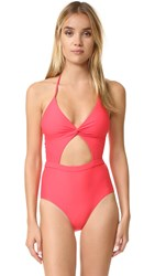6 Shore Road Divine One Piece Swimsuit Marigold