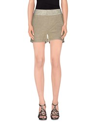 Fracomina Trousers Shorts Women Gold