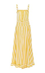 Thierry Colson Rosanna Nautical Stripes Maxi Dress