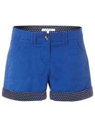 White Stuff Sand Castle Shorts Cobalt