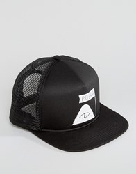 Poler Trucker Cap Summit Black