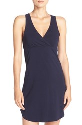 Naked Women's Stretch Cotton Chemise Peacoat