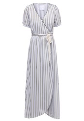 One O Eight Maxi Dress Grey Light Grey