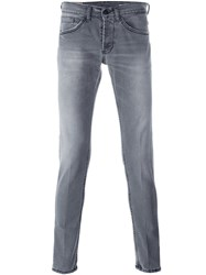 Dondup 'George' Skinny Fit Jeans Grey