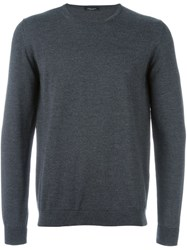 Roberto Collina Classic Knitted Sweater Grey