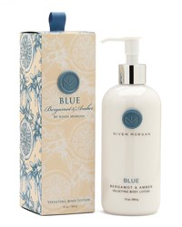 Blue Body Lotion 12 Oz. Niven Morgan