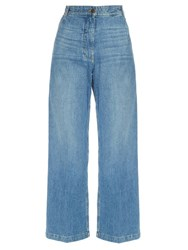 Rachel Comey Bishop Wide Leg Cropped Jeans Denim