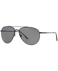Polo Ralph Lauren Sunglasses Polo Ralph Lauren Ph3094 59 Black Shiny Grey Polar