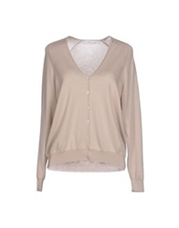 Lamberto Losani Cardigans Light Grey