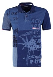 Desigual Albert Polo Shirt Azul Tinta Dark Blue