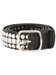 Dsquared2 Studded Biker Belt Black