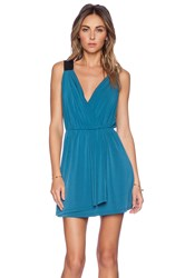 Bcbgeneration Wrap Dress Teal