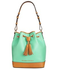 Dooney And Bourke Claremont Drawstring Bag Sea Foam