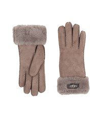 Ugg Classic Turn Cuff Glove Stormy Grey Extreme Cold Weather Gloves Gray