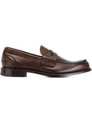 Church's 'Pembrey' Penny Loafers Brown