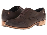 Sebago Claremont Brogue Mahogany Women's Lace Up Wing Tip Shoes