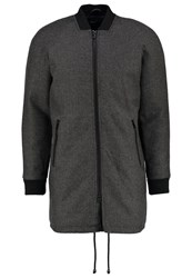 Solid Dylan Bomber Jacket Anthracite
