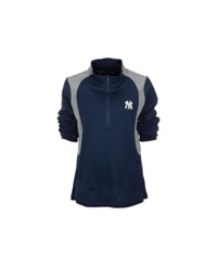 Antigua Women's New York Yankees Delta Pullover Navy