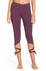 Free People Women's 'Turnout' Tie Up Leggings